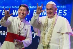 Pope Francis & Cardinal Tagle