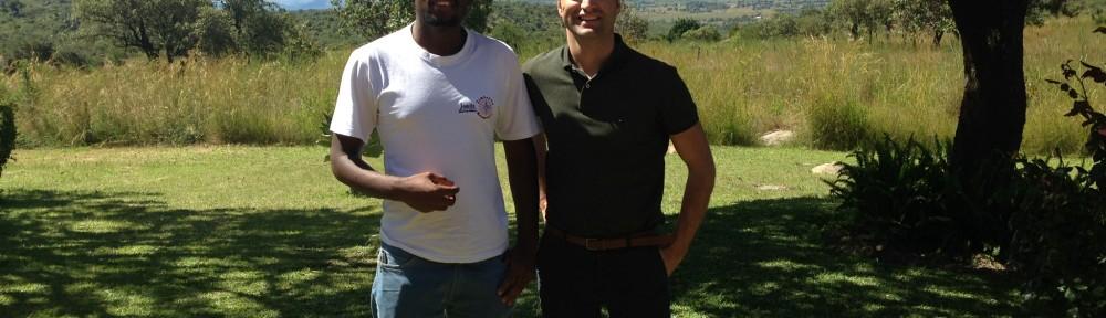 Twanda Chamba SJ (left)